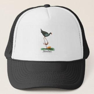 Casquette Oiseau de poule d'eau, fernandes élégants