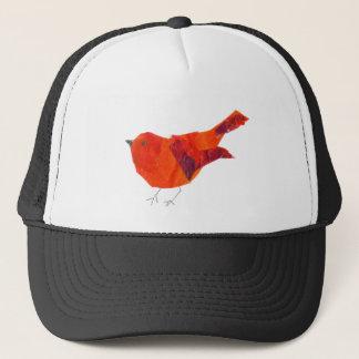 Casquette Oiseau rouge mignon