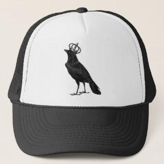 Casquette Oiseaux d'oiseau de noir de couronne de Raven de