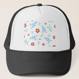 Casquette Oiseaux et fleurs