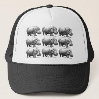 Casquette or d'hippopotame