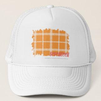Casquette Orange 3 de plaid