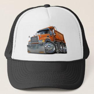 Casquette Orange de camion à benne basculante de Mack