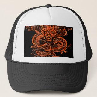 Casquette Orange épique de dragon
