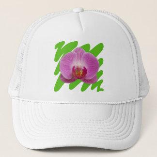 Casquette Orchidée
