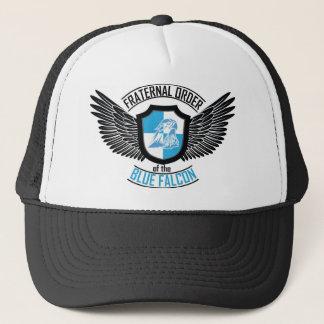 Casquette Ordre fraternel du faucon bleu, faucon bleu