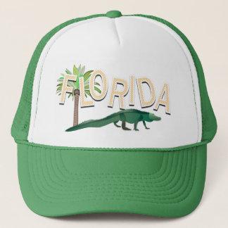 Casquette Palmier et alligator de la Floride