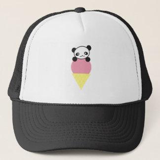 Casquette Panda de crème glacée