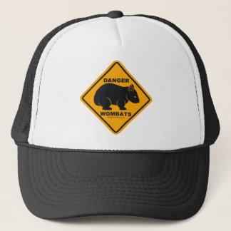 Casquette Panneau routier de danger de wombat