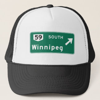 Casquette Panneau routier de Winnipeg, Canada