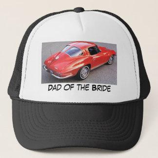 Casquette Papa de la jeune mariée Corvette