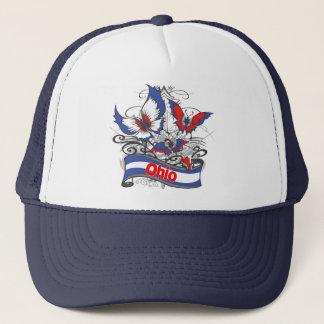 Casquette Papillon de patriotisme de l'Ohio