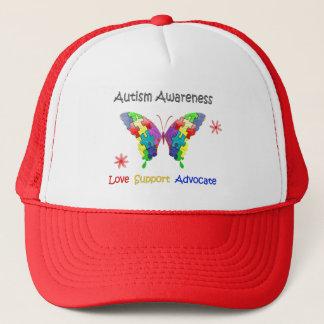 Casquette Papillon de sensibilisation sur l'autisme