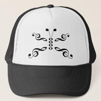 Casquette Papillon de symboles de musique