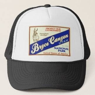 Casquette Parc national de canyon de Bryce (antilope)