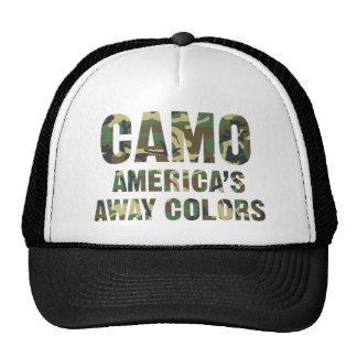 Casquette parti de camionneur de couleurs de Camo