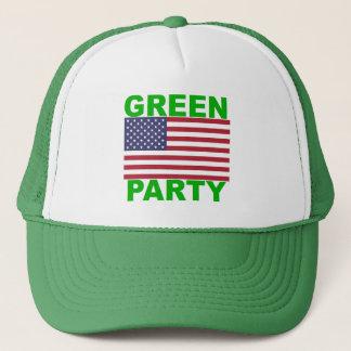 Casquette Parti Vert Etats-Unis