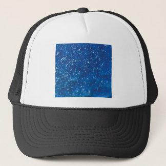Casquette parties scintillantes bleu-foncé