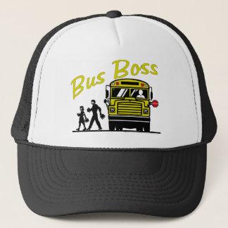 Casquette Patron d'autobus - conducteur masculin