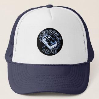 Casquette Pédale de déformation - blanc de noir bleu de