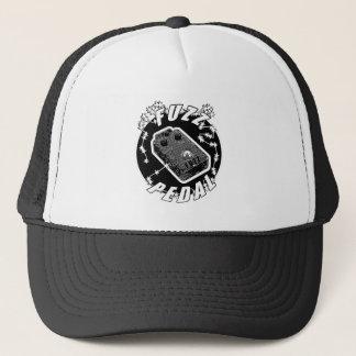 Casquette Pédale de DUVET - noir électrique et blanc