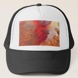 Casquette Peinture à l'huile d'abrégé sur danse du feu