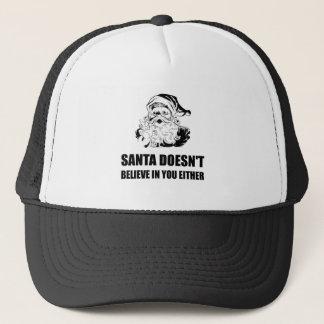 Casquette Père Noël ne croit pas en vous non plus