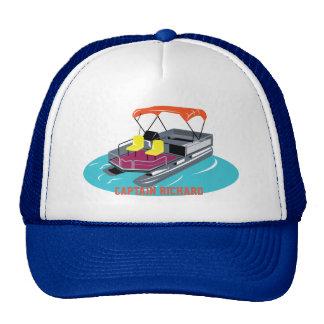 Casquette personnalisé coloré de bateau de ponton