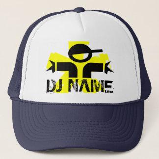 Casquette personnalisé du DJ avec le nom fait sur