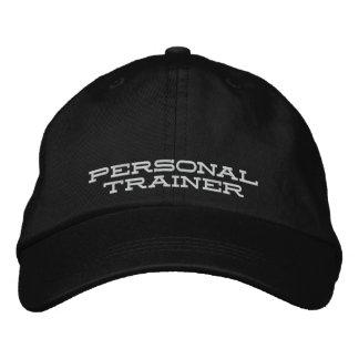 Casquette personnel d'entraîneur casquette brodée