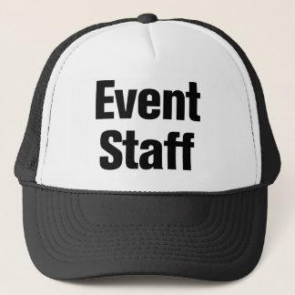Casquette Personnel d'événement