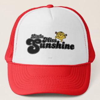 Casquette Petit lettrage noir de bulle de Mlle Sunshine |