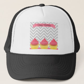 Casquette Petits gâteaux de joyeux anniversaire
