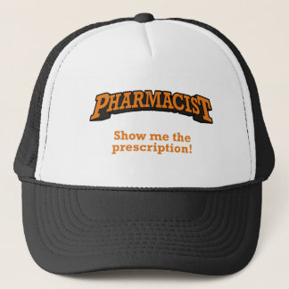 Casquette Pharmacien/prescription