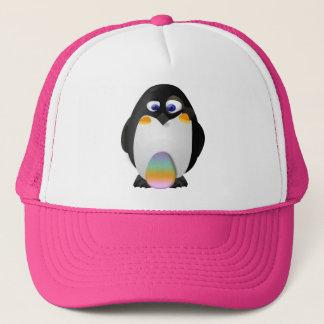 Casquette Pingouin avec l'oeuf de pâques