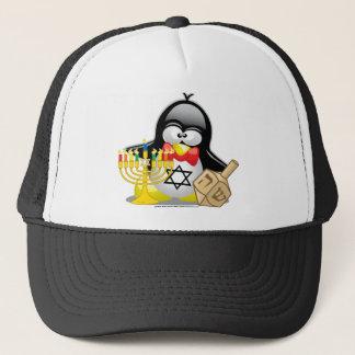 Casquette Pingouin de Hanoukka