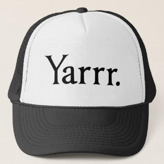 Casquette Pirate de Yarrr