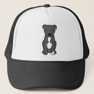 Casquette Pitbull Terrier américain (oreilles naturelles)