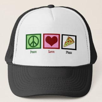 Casquette Pizza d'amour de paix