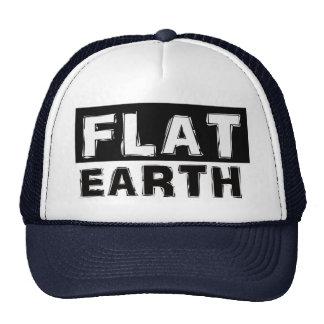 Casquette plat de camionneur de la terre
