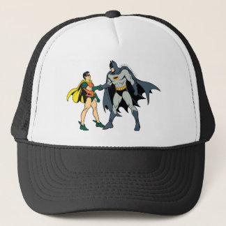 Casquette Poignée de main de Robin et de Batman
