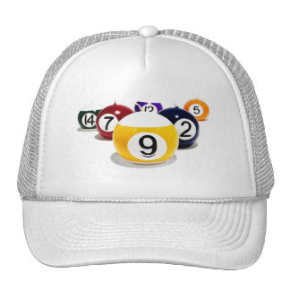 Casquette pool ball