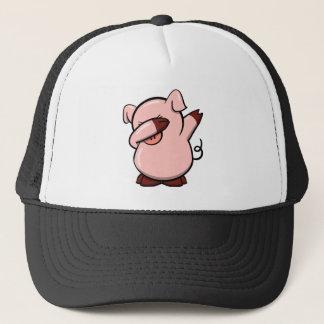 Casquette Porc tamponnant