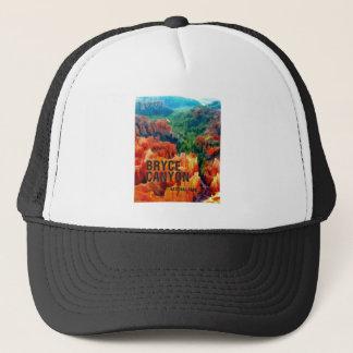 Casquette Porte-malheurs colorés en parc national de canyon