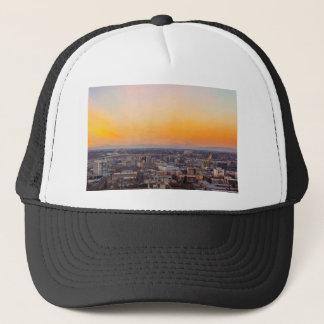 Casquette Portland OU paysage urbain et coucher du soleil de