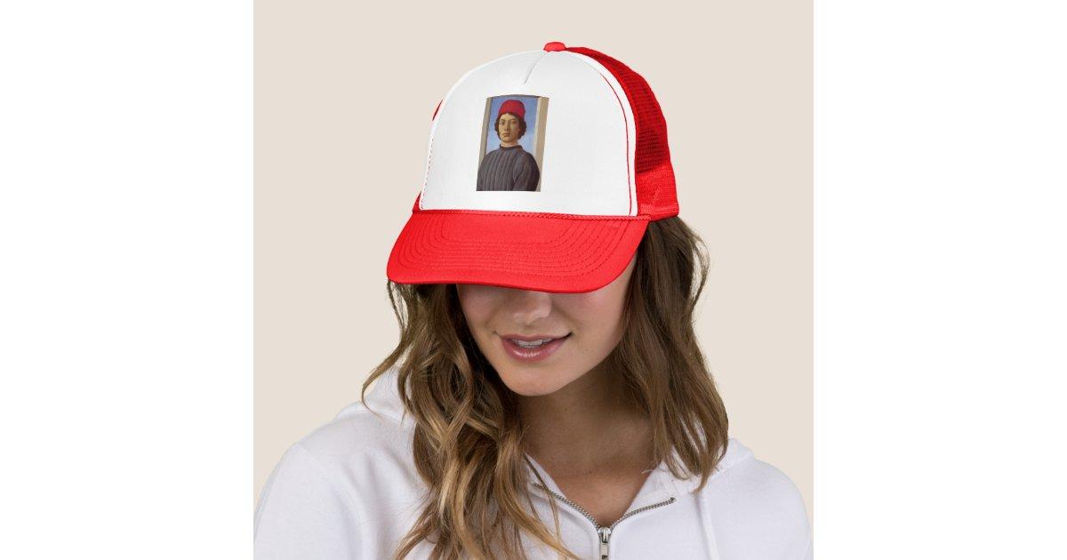 adc8e42111beb casquette sandro homme,portrait de sandro botticelli dun jeune homme  casquette trucker