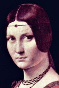 6ce587356b8f9 Casquette Portrait d'une jeune femme (belle Ferronière de