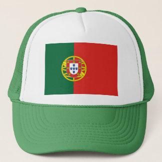 Casquette portugais de drapeau