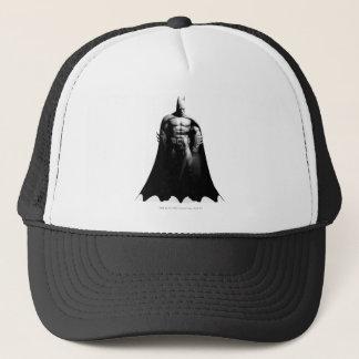 Casquette Pose large noire et blanche de la ville   Batman