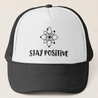 Casquette Positivité scientifique drôle positive de séjour